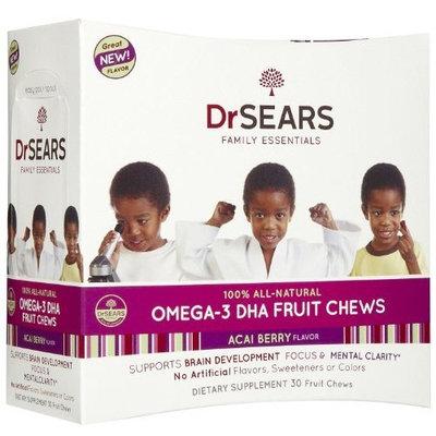 Dr Sears Dr. Sears All Natural Omega-3 DHA Chews, Acai, 30 ct