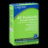 CareOne 4X Probiotic Caplets - 28 CT