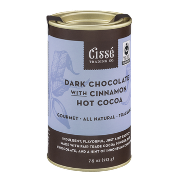 Cisse Trading Co. Dark Chocolate With Cinnamon Hot Cocoa