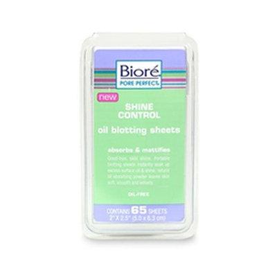 Bioré Biore Shine Control Oil Blotting Sheets Absorbs & Mattifies