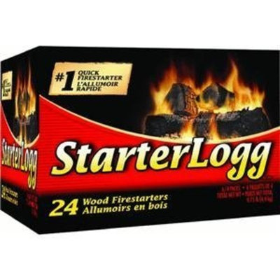 Pine Mountain Firestarters StarterLogg Firestarting Blocks, 24 Fire Starters [1]