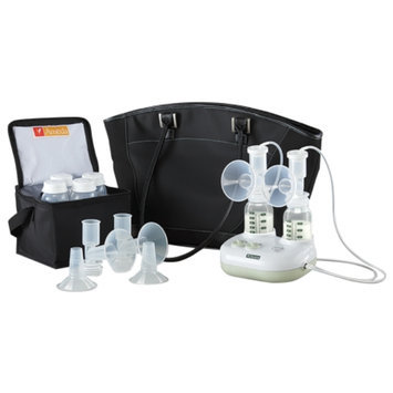 Ameda Purely Yours Ultra Double Electric Breast Pump Kit