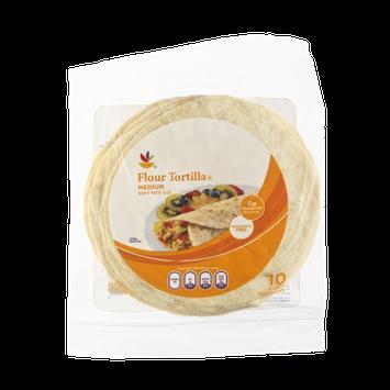 Ahold 8 Inch Medium Flour Tortilla - 10 CT