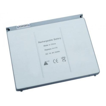 Superb Choice CT-AE1575PM-1P 6 cell Laptop Battery for Apple A1175 A1260 A1150 MacBook Pro 15 in.