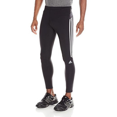adidas Performance Men's Response Long Tights [Black/White, XX-Large]