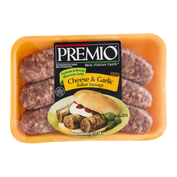Premio Italian Sausage Cheese & Garlic