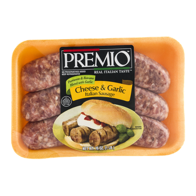 Premio Italian Sausage Cheese & Garlic