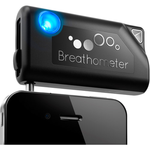 Breathometer Smartphone Breathalyzer for iOS and Android Phones A01