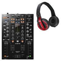 Pioneer DJM-T1 DJ Mixer w/ HDJ-500R Headphones