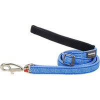 Red Dingo L6-HY-MB-LG Dog Lead Design Hypno Mid Blue Large