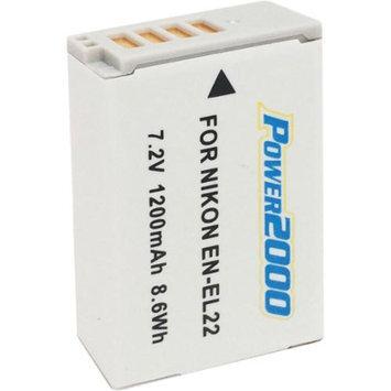 Power2000 ACD-425 Rechargeable Battery for Nikon EN-EL22
