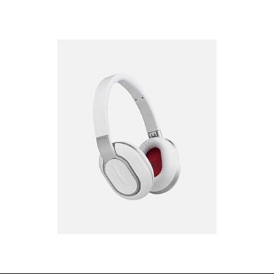 Phiaton PHIBT460WHT BT 460 White Wireless Touch Interface Headphones with Microphone