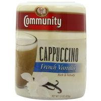 Community French Vanilla Cappuccino, 15 oz