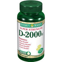Nature's Bounty Vitamin D3-2000 IU