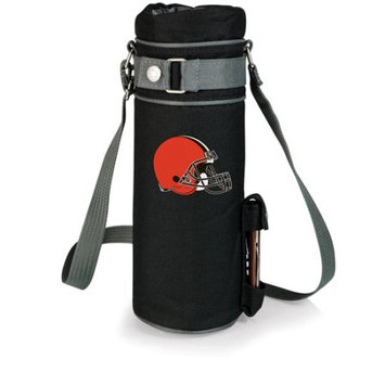 Nfl - Cleveland Browns Picnic Time NFL Cleveland Browns Wine Sack Digital Print Insulated Single Bottle Tote