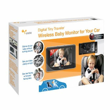 Yada Digital Tiny Traveler Baby Monitor For Your Car, 1 ea