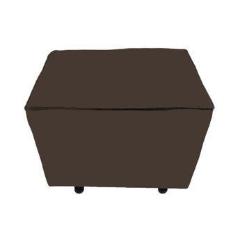 Fun Furnishings Comfy Cozy Ottoman - Linen Vanity