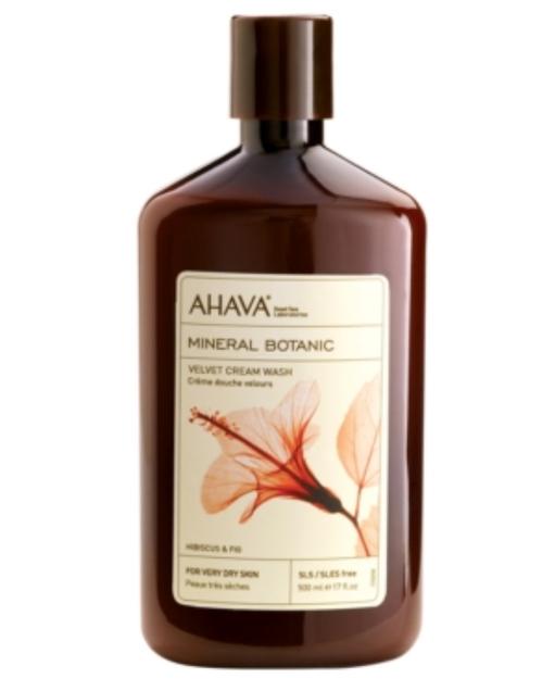 AHAVA Mineral Botanic Velvet Cream Wash for Very Dry Skin