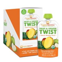 Happy Squeeze Organic Superfood Fruit & Veggie Twist Apple