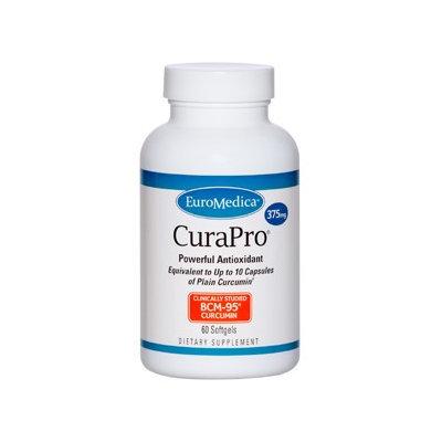 Euromedica CuraPro 375mg 60 gels