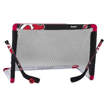Franklin Sports NHL New Jersey Devils Mini Hockey Set
