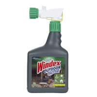 Windex Outdoor Sprayer Gray Bottle, 32 fl oz