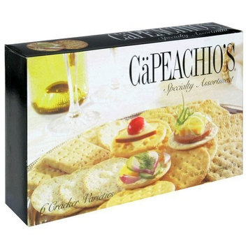 Capeachio's Capeachios, Crckr Astd Spclty Cllctn, 8.8 OZ (Pack of 12)