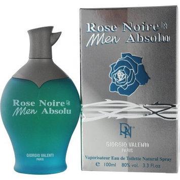 Rose Noire Men Absolu by Giorgio Valenti,Eau De Toilette Spray 3.3 Ounce