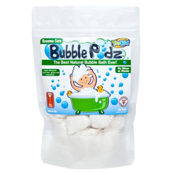 TruKid Eczema Care Bubble Podz, Unscented, 24 ea