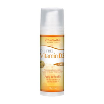 Vitamin D3 Oil Free AnuMed Intl 1.2 oz Cream