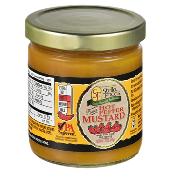 Stello Foods Rosie's Hot Pepper Mustard