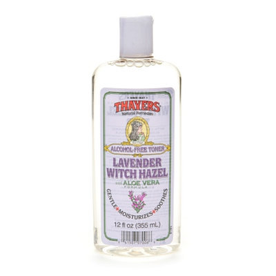 Thayers Alcohol-Free Witch Hazel with Organic Aloe Vera Formula Toner Lavender