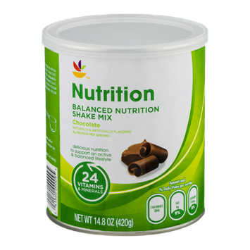 Ahold Nutrition Balanced Nutrition Shake Mix Chocolate