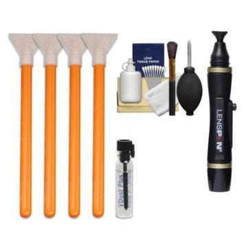 VisibleDust EZ Sensor Cleaning Kit for Size 1.6x (16mm) Digital SLR Cameras with 1ml Liquid vDust Plus & 4 Vswabs + Lenspen + Cleaning Accessory Kit
