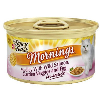 Purina Fancy Feast Fancy Feast Mornings Medley with Wild Salmon Wet Cat Food - 3 oz