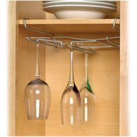 Spectrum Under the Shelf Stemware Holder - Chrome