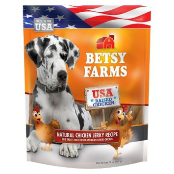 Betsy Farms Besty Farms Natural Chicken Jerky Treat for Dogs - 12 Oz