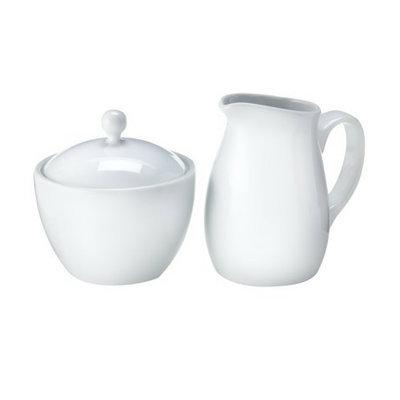 Luigi Bormioli Corp Luigi Porcelain Sugar & Creamer
