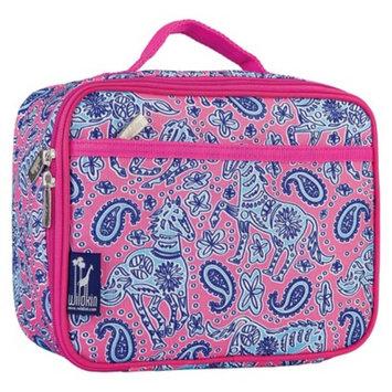 Wildkin 33310 Watercolor Ponies Pink Lunch Box