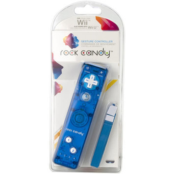 PDP Rock Candy Gesture Controller, Blue (Wii)