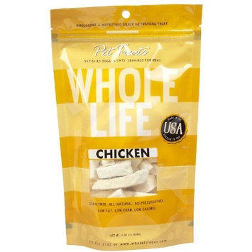 Whole Life Pet Products Whole Life Pet Single Ingredient USA Freeze Dried Chicken Breast Treats Value Pack for Dogs and Cats, 21-Ounce