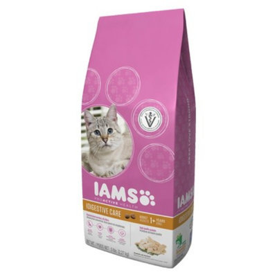 IAMS Iams ProActive Health Adult Digestive Care Dry Cat Food 5 LBS