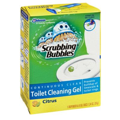 Scrubbing Bubbles Continuous Clean Citrus Toilet Cleaning Gel