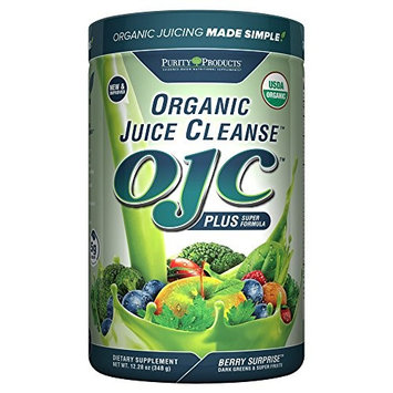 Purity Products - Certified Organic Juice Cleanse - (OJC) Plus - Berry Surprise - New Improved Ext