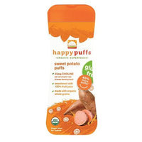 Happy Baby Organic Sweet Potato Puffs - Gluten Free (6 Pack)