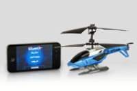 SILVERLIT Apple Bluetooth Heli Hs -Blue