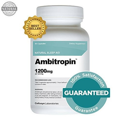 Ambitropin - Sleep Aid - Sleep Aids Natural - One of the Best Sleep Pills That Is Sold As an Over the Counter Sleep Aid