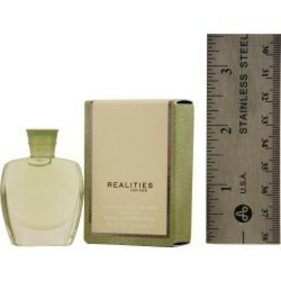REALITIES NEW REALITIES (NEW) by Liz Claiborne for MEN: COLOGNE .18 OZ MINI (note* minis approximately 1-2 inches in height)