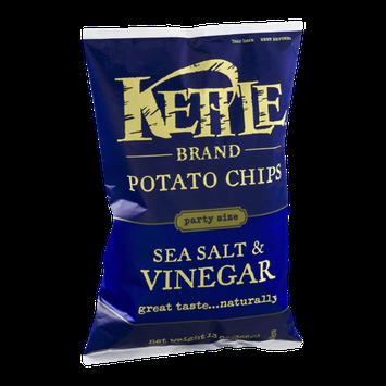 Kettle Brand Potato Chips Sea Salt & Vinegar