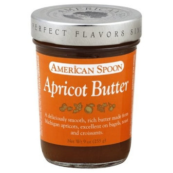 American Spoon Fruit Butter, Apricot, 9-Ounce (Pack of 3)
